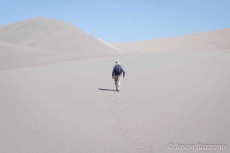 Naturalizing in the desert.