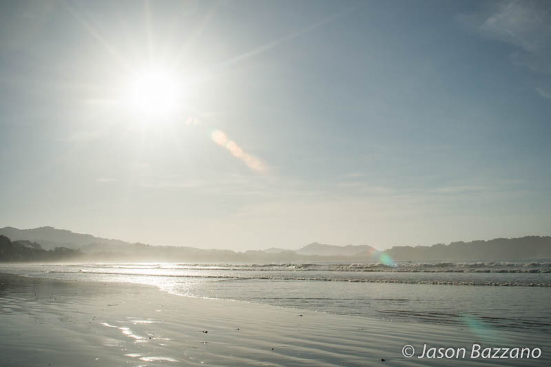 Sun and sand.